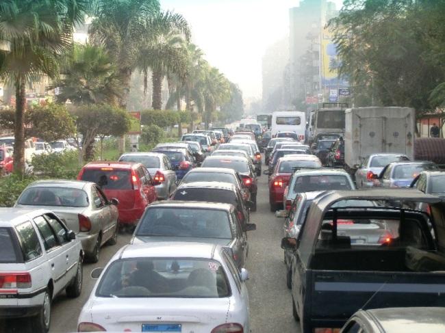 カイロは慢性的な渋滞